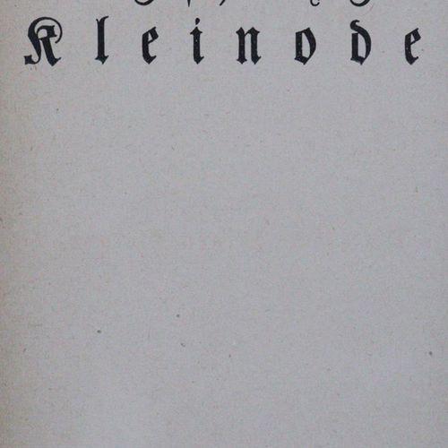 Diderot,(D.). Recueil de romans et de récits. 5 volumes. Mchn., G.Müller 1921. 8…
