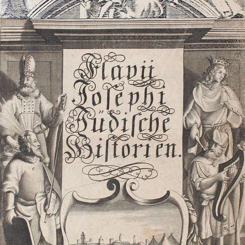 Josephus,F. Deß hochberühmten Jüdischen Geschicht Schreiber Historien und Bücher…