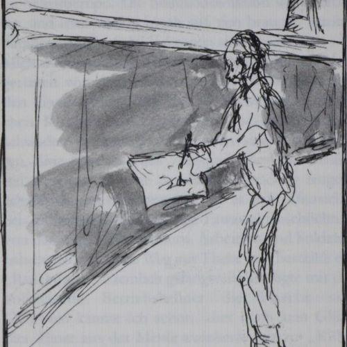 Brus,G. U. J.Schlick. Pensées nébuleuses en spirale. Cologne, Galerie Nagel 2004…