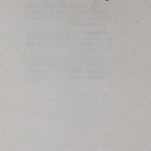 Kuhlmann,Q. Poèmes choisis. Potsdam, Hadern Vlg. 1923. 29 pp. Prgt. Un des 500 n…