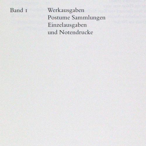 Bonitz,A. U. T.Wirtz. 库尔特 图霍尔斯基。他的著作的索引。3卷。Marbach, Dt. Schiller Gesell.1991年。纸质…