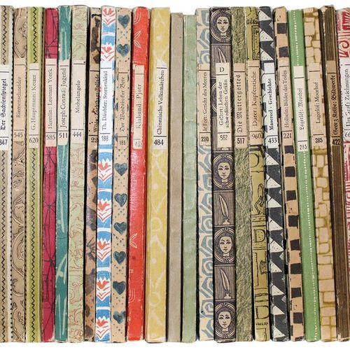 Insel Bücherei. Collection de 1030 volumes. Principalement opbde. (Certaines cou…