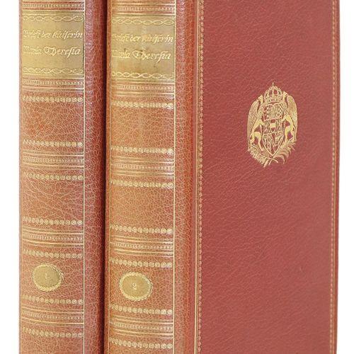 Maria Theresia. 皇后的书信。由W.Fred(即A.Wechsler)选择、编辑和介绍。2卷。Mchn. And Lpz., G.Müller 1…