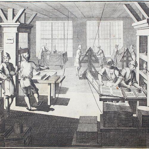 (Ernesti,J.H.G.). Die Wol eingerichtete Buchdruckerey, mit hundert and ein and z…