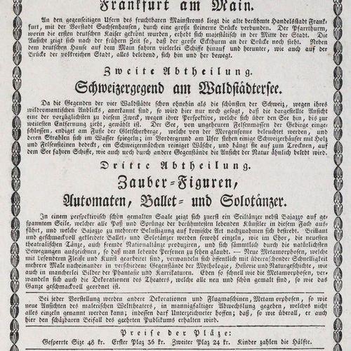Theatre Pittoresque. Première section : Vue pittoresque illustrée du monde de Fr…