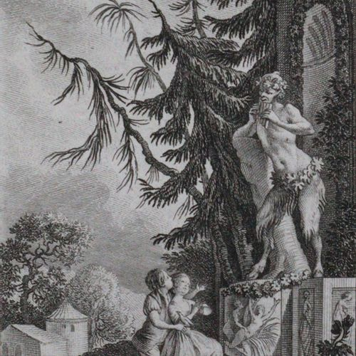 Berquin,A. 田园诗》,2本,1卷。巴黎,Ruault 1775年,12°。有铜质标题a。24块铜板,出自马里耶之手。VI, 53, 70 p., 1 …