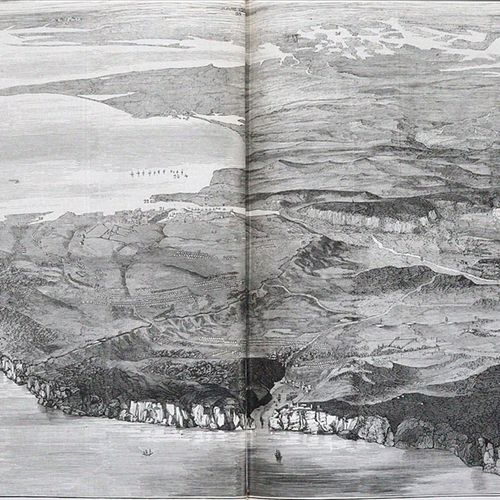 Illustrirte Zeitung. 该系列的4个半年度卷。Lpz. 1855 58.有许多,部分是满的。木版画,黑板 D. Zt.(有些摩擦和磨损)。 可…