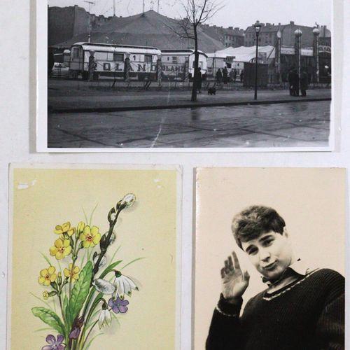 Sammlung de 88 articles (photos, cartes postales, autographes, etc.), vers 1925 …