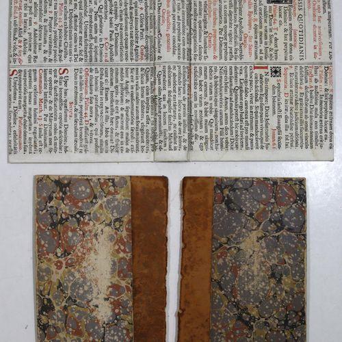 Sammlung de 8 reliures a. Ca. 60 fol. Divers w. Papiers. Des papiers et quelques…