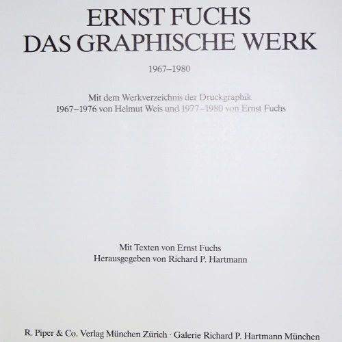 Sammlung de 5 catalogues raisonnés, versch. Artistes en 6 volumes. Divers. Forma…