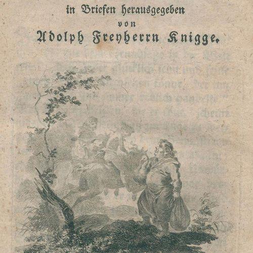 Knigge,A.V. Geschichte des armen Herrn von Mildenburg, in Briefen hrsg. 3 Tle. I…