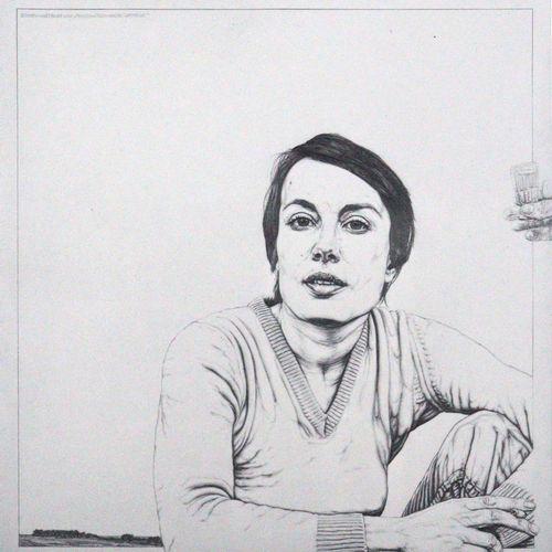 Waldschmidt,A. La rétrospective pour le 60e. Des dessins au crayon datant de 20 …