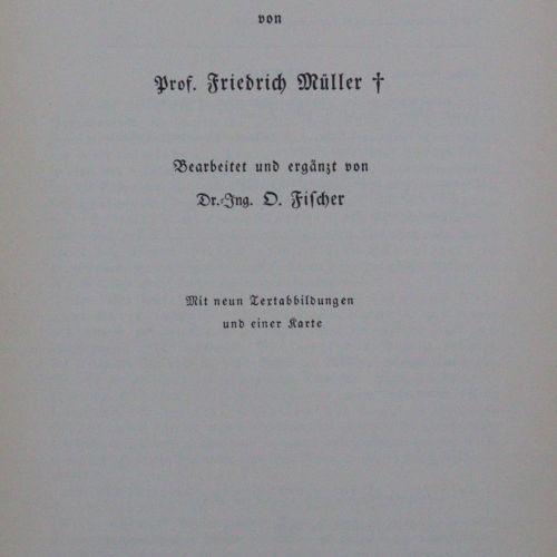 Müller,F. 石勒苏益格 荷尔斯泰因北海沿岸的水生生物。第二部分:群岛。7卷。Bln.版的再版,D.Reimer 1936 38.Bln.1985.4°。…