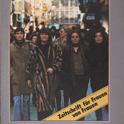 Emma. 由妇女编写的妇女杂志。年刊第1和第2卷共2册。科隆1977 78年,4°。有大量的、部分彩色的插图。插图,页数。插图。平装本。