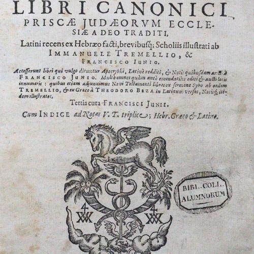 Testamenti Veteris Biblia Sacra, sive libri canonici priscae judaeorum ecclesiae…