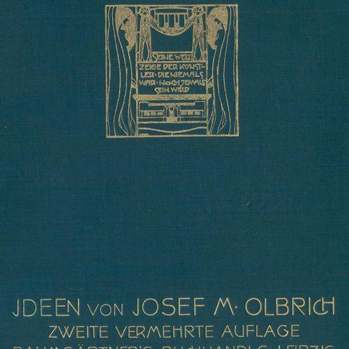 Olbrich,J.M. 思想。第二版。XII p., 1 fol.莱比锡,Baumgärtner(1904)。Qu.8°。附有122张图版上的大量插图。附有3…