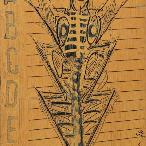Jäger,B. Catalogue des figures d'Offenbach. Cinquante quatre gravures à l'huile.…