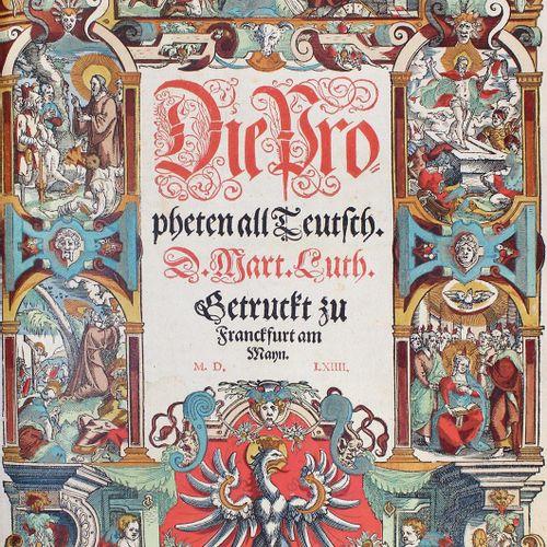 Biblia germanica. 圣经 这是用德语写的全部圣经。再加上对《圣经》中包含的所有希伯来语、迦勒底语、希腊语和拉丁语的名称和词汇的详细解释...还简…