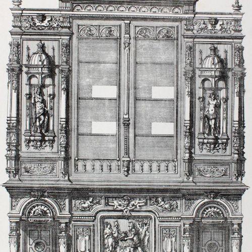 Verchere,J. L'art du mobilier.Traite graphique d'ameublements des Styles.文艺复兴时期,…