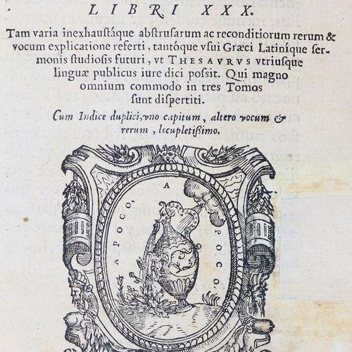 (Ricchieri)Rhodiginus,L. Lectionum antiquarum libri XXX... Qui magno omnium comm…