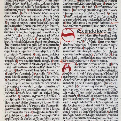 Spiera,A.De. Quadragesimale de floribus sapientiae. Venise, Gabriel de Grassis 1…