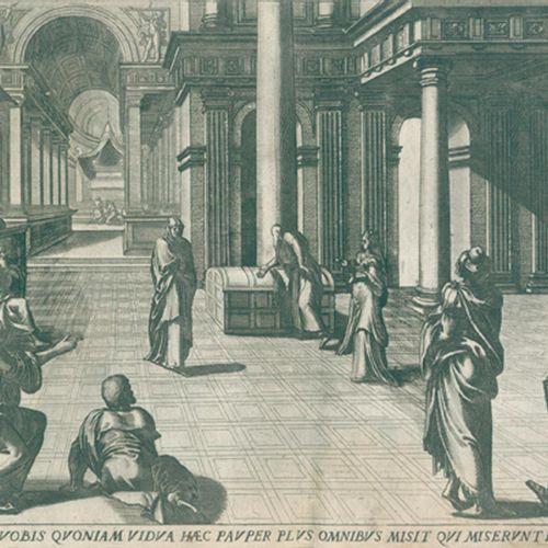 Collaert,A. Encomium Musices. Anvers, Galle (vers 1590). Qu.4°. Titre gravé, 1 f…