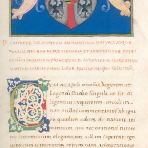 Candidus,P. Le livre des animaux. Codex Urbinas Latinus 276. Facsim. Seulement. …
