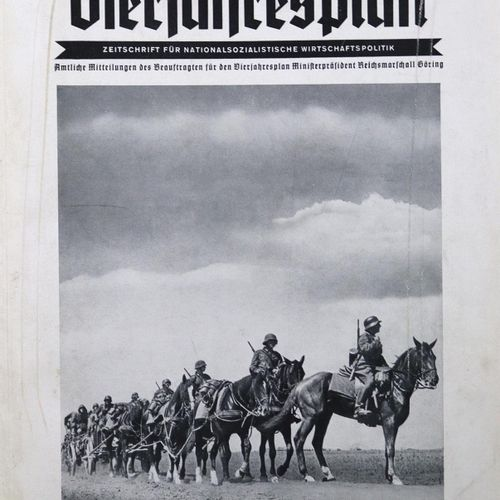 Vierjahresplan, Der. Journal de la politique économique nationale socialiste. Co…