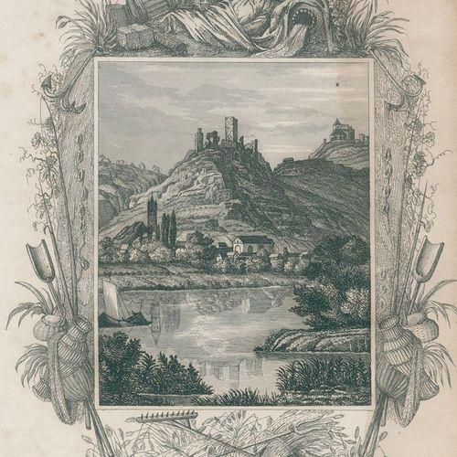 Damitz,K.V. La Moselle, ses rives et ses environs, de Coblence à Trèves.... 2 pa…