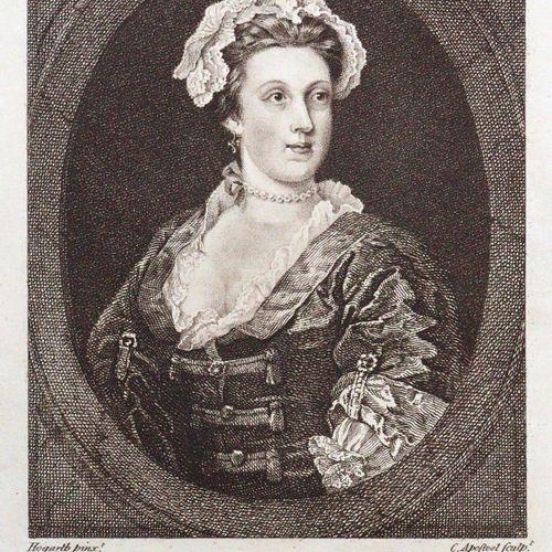 Ireland,S. 霍加斯的图形插图,来自图片、素描和稀缺的印刷品。2卷。伦敦,Faulder & Egerton 1794 99。98张(共103张)各种技…