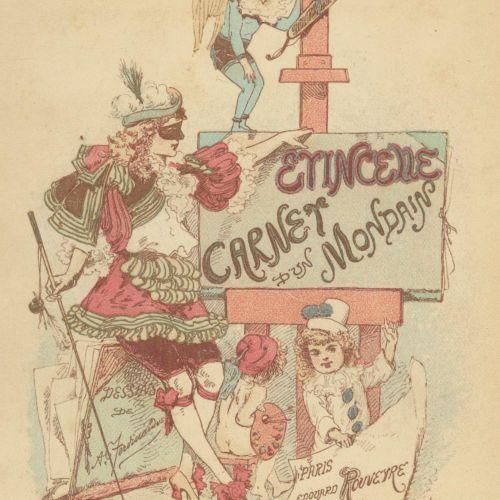 (Peyronny, Madame de). Carnet d'un Mondain, Gazette Parisienne, Anecdotique et C…