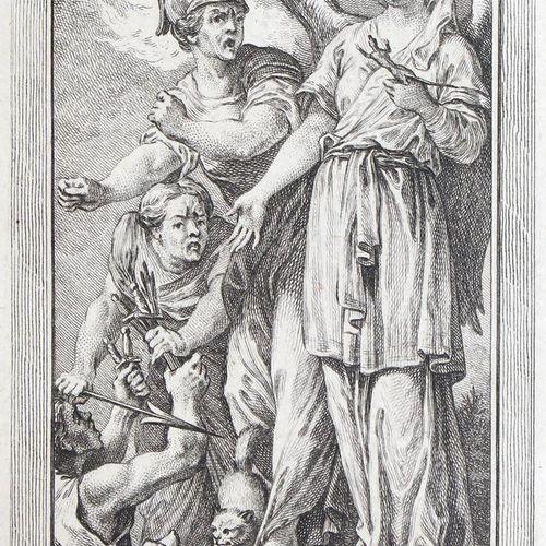 Gravelot,H.F. U. C.N.Cochin. Iconologie par figures, ou traite completet des all…