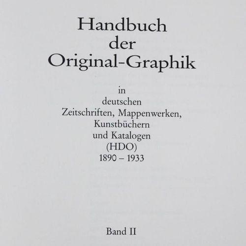 Söhn,G. Handbuch der Original Graphik in deutschen Zeitschriften, Mappenwerken, …