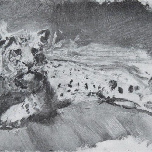 Waldmann,E. Max Slevogt. Bln, Cassirer 1923. 4°. Avec 1 gravure originale (autop…