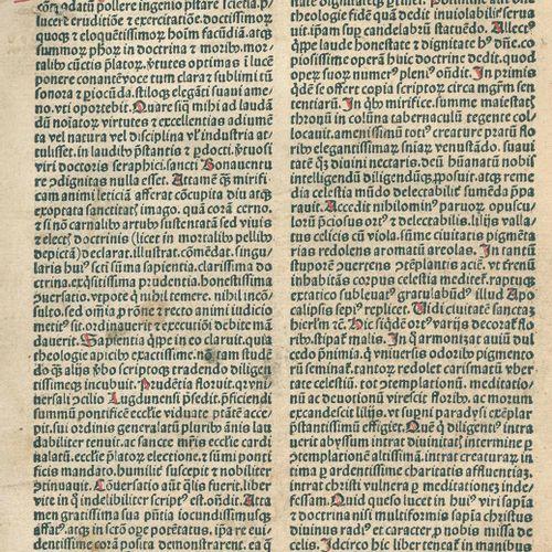 Bonaventura,S. Egregium opus sustilitate et devoto exercitio precellens paruozum…