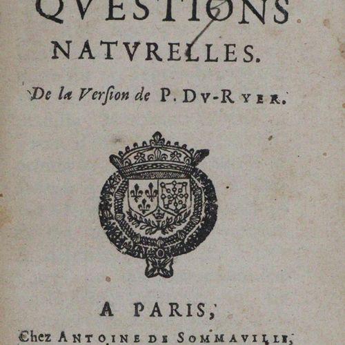 Malherbe,F.De. Seneque, des bienfaits. De la version. Rouen u. Paris, Sommaville…