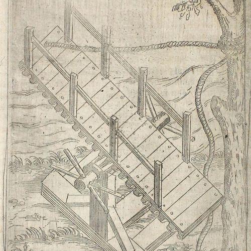 Boillot,J. 羽毛装置...也就是说,人工烟花和战争工具,以保卫和驱逐所有handt vöste Orth。斯特拉斯堡,Bertram 1603年,4°…