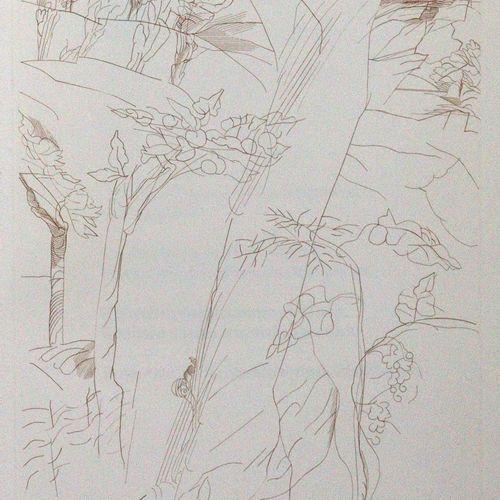 Lasker Schüler,E. 希伯来语歌谣。(Hbg., Otto Rohse Presse 1968)。4°.有4幅(包括封面)O.Rohse的铜版画。…