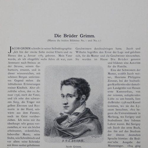 Werckmeister,K. (Hrsg.). 十九世纪的肖像画。5卷。Bln, Kunstvlg. D. Photogr. Gesellschaft 189…