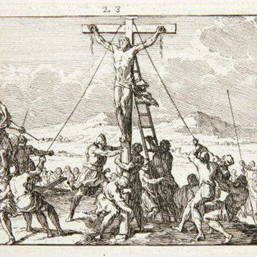 Le Clerc,S. Figures de la passion de Notre Seigneur Jésus Christ. Paris, Audran …