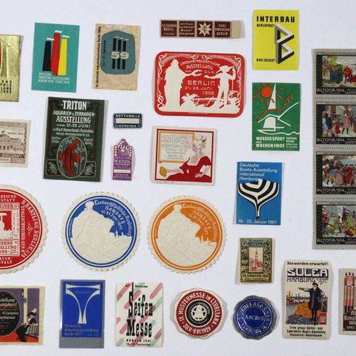 Reklamemarken. Collection de plusieurs centaines de timbres publicitaires (parfo…