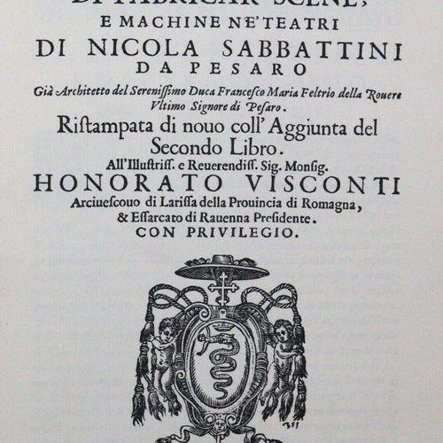Sabbattini,N. 场景制作的实践,和机器新技术。 制作装饰品和剧院机器的说明。由W. Flemming翻译并与原文一起出版。魏玛,Gesellscha…