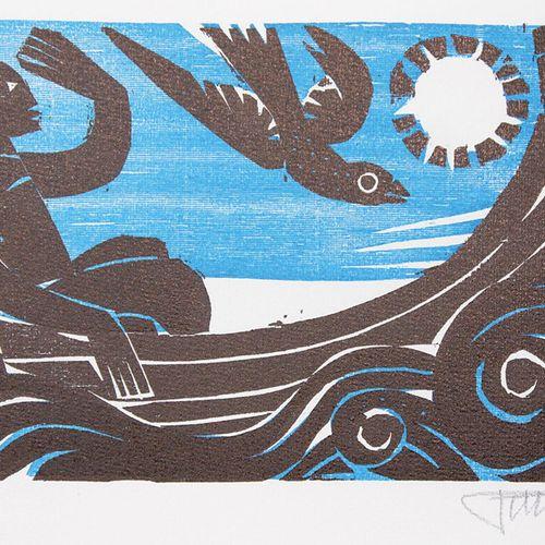 Pohl,A. Collection de 7 écrits avec des illustrations d'Alfred Pohl. Divers. For…