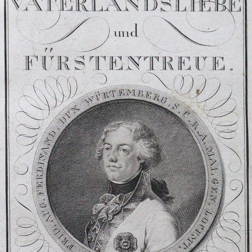 (Lauber,J.). Mémorial ( !) de l'amour de la patrie et de la fidélité aux princes…
