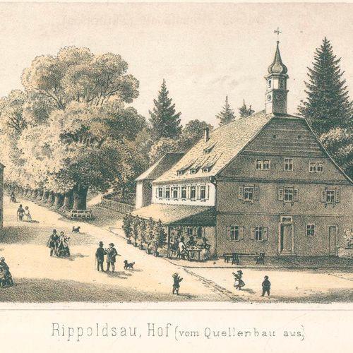 Sprüngli,J. Rippoldsau和Griesbach, Petersthal, Freiersbach, Sulzbach...Wolfach, F…