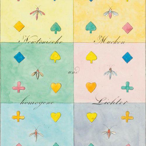 Goethe,J.W.V. Goethe's Farbenlehre的16张图和Dessen Beiträge zur Optik的Siebenundzwanz…