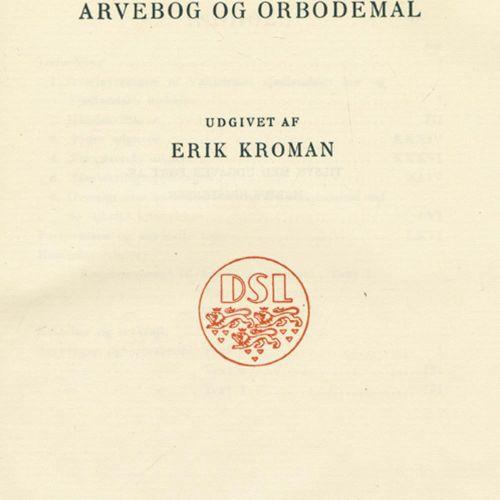 Dänemark. 充满魅力的城市和乡村。J. Bröndum Nielsen和P.J. Jörgensen编辑。该系列的4卷。哥本哈根,Gyldendal 1…