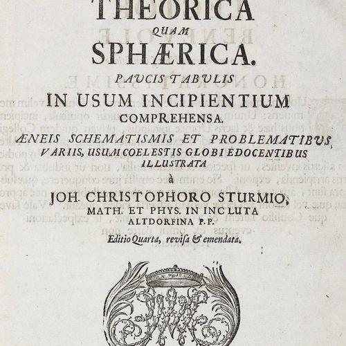 Sturm,J.C. 宇宙科学或天文学是理论上的,也是在使用过程中的一个小表格,是全面的。Aeneis schematismis et problematibu…