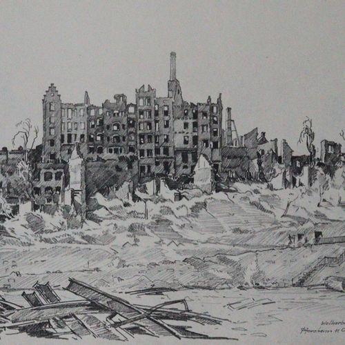 Elsässer,O. Pforzheim après la catastrophe du 23 février 1945. Monuments et pays…