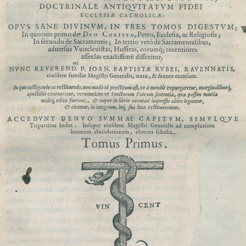 Waldensis,T. (Thomas Netter von Walden). Doctrinale antiquitatum fidei ecclesiae…